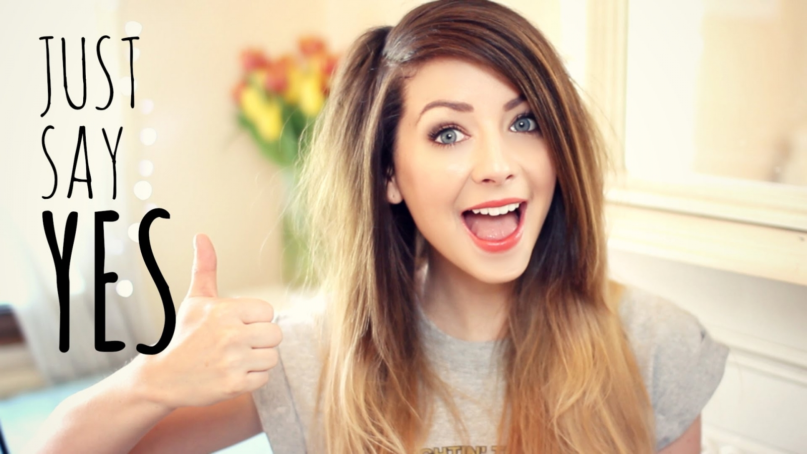 Zoella youtube beauty blogger just say yes