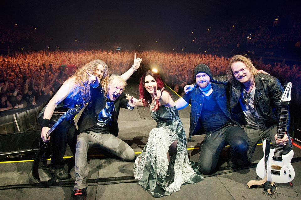 Delain otto schimmelpenninck ruptures testicle on stage