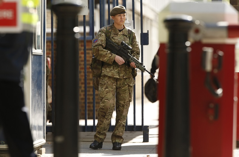 Women make up around 10% of the British military and are now one step closer to being able to fight on the front line