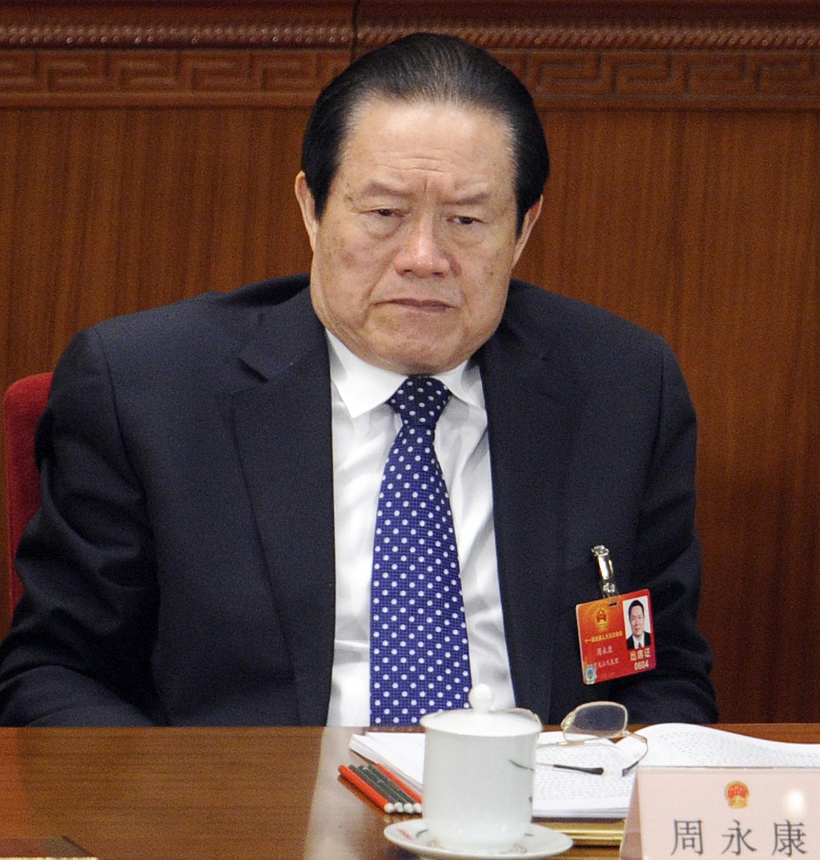 Former Chinese security chief Zhou Yongkang (LIU JIN AFP )