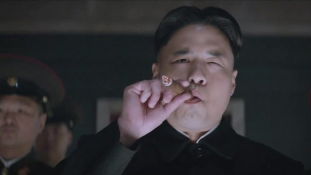 Kim Jong-Un, as depicted in The Interview (Sony Pictures)