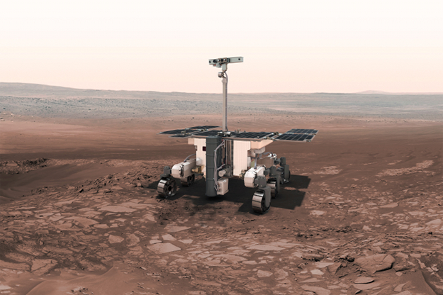 The space rover will travel around Mars using the stars to navigate by