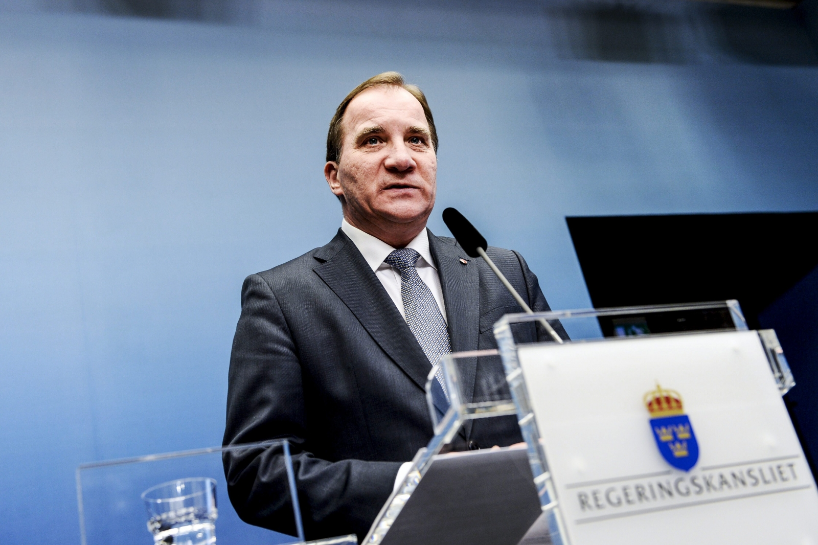 Swedish prime minister Stefan Lofven (Getty)