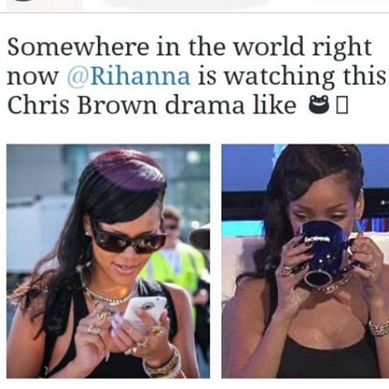 Chris Brown To Karrueche Tran I Love Hard And React: Chris Brown And Karrueche Tran Split Triggers Hilarious