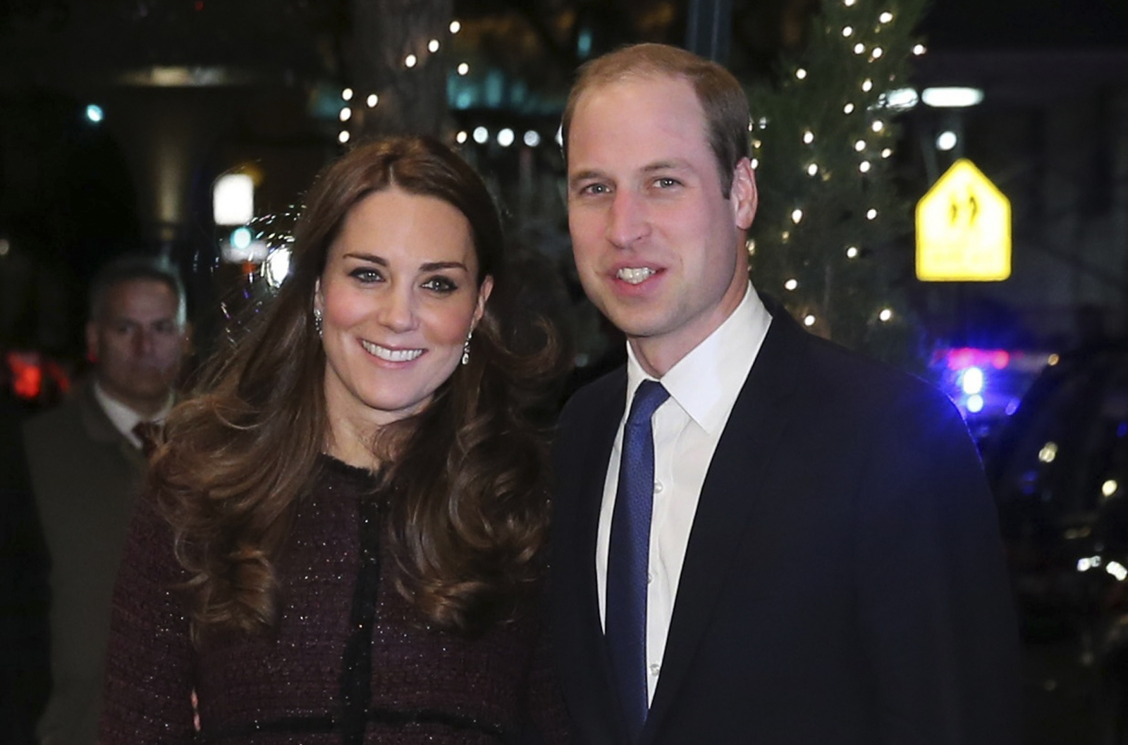 Cheering New Yorkers greet William and Kate in first official visit