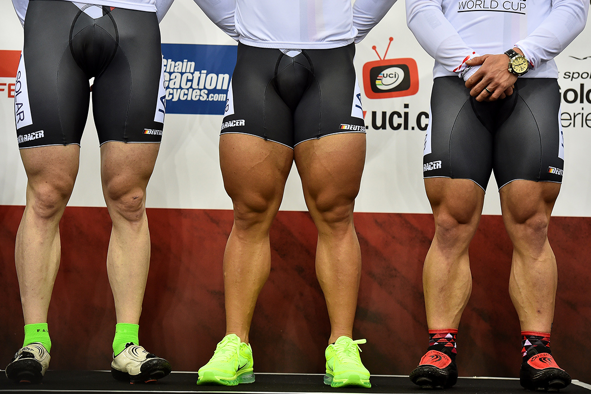 cycling german legs