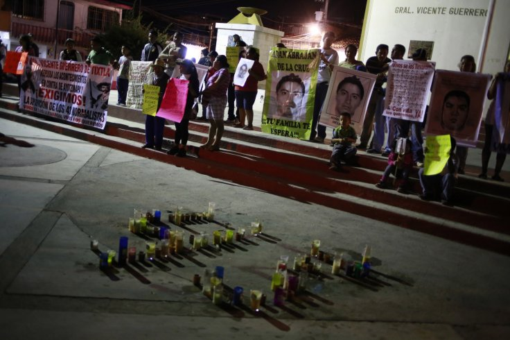 43 missing Mexican students
