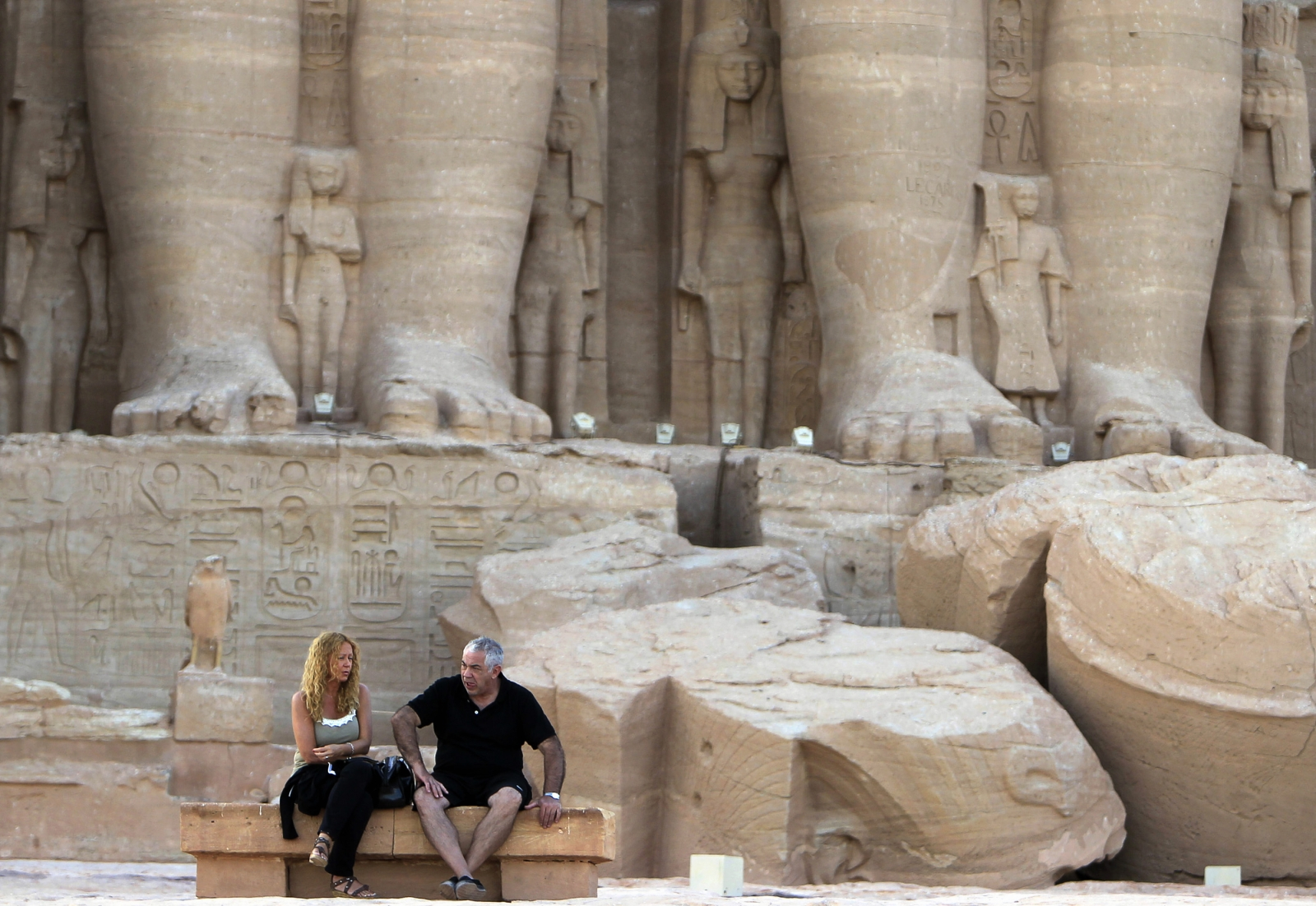 Egypt tourists