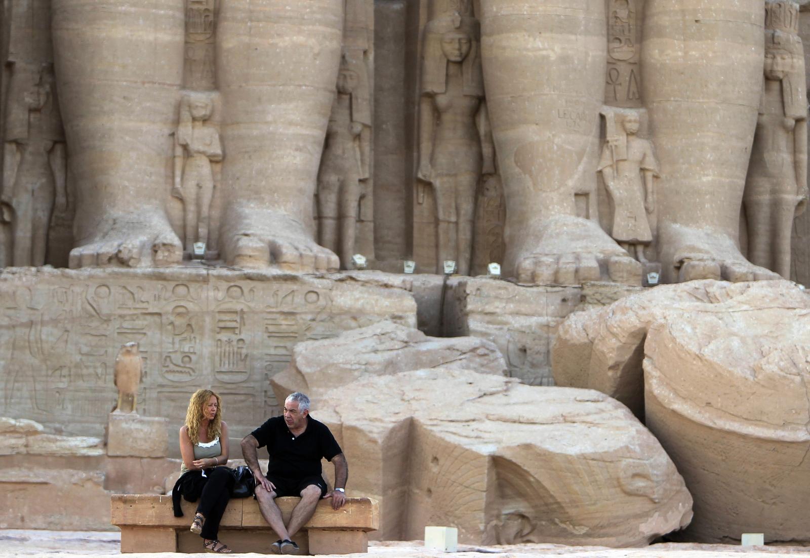 Egypt tourists