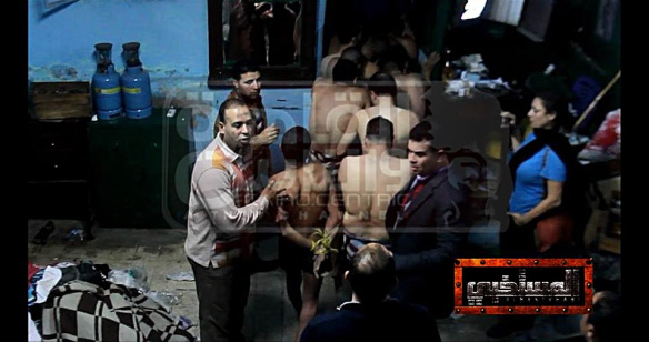 Men arrested for 'debauchery' at Cairo hammam