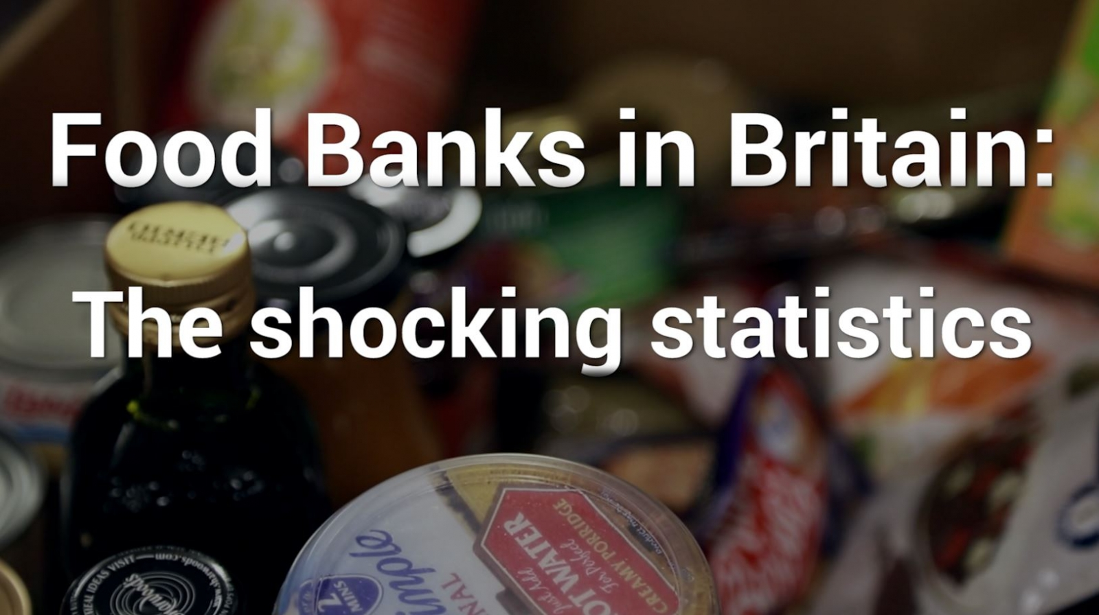Food banks in Britain: The shocking statistics