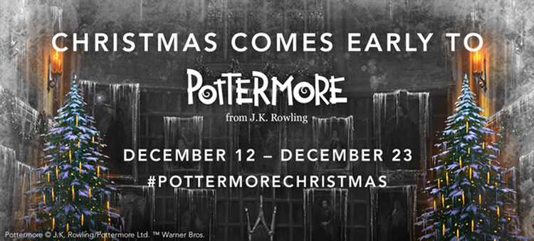 Christmas is coming early to Pottermore with 12 new pieces of exclusive content being released this month by author JK Rowling