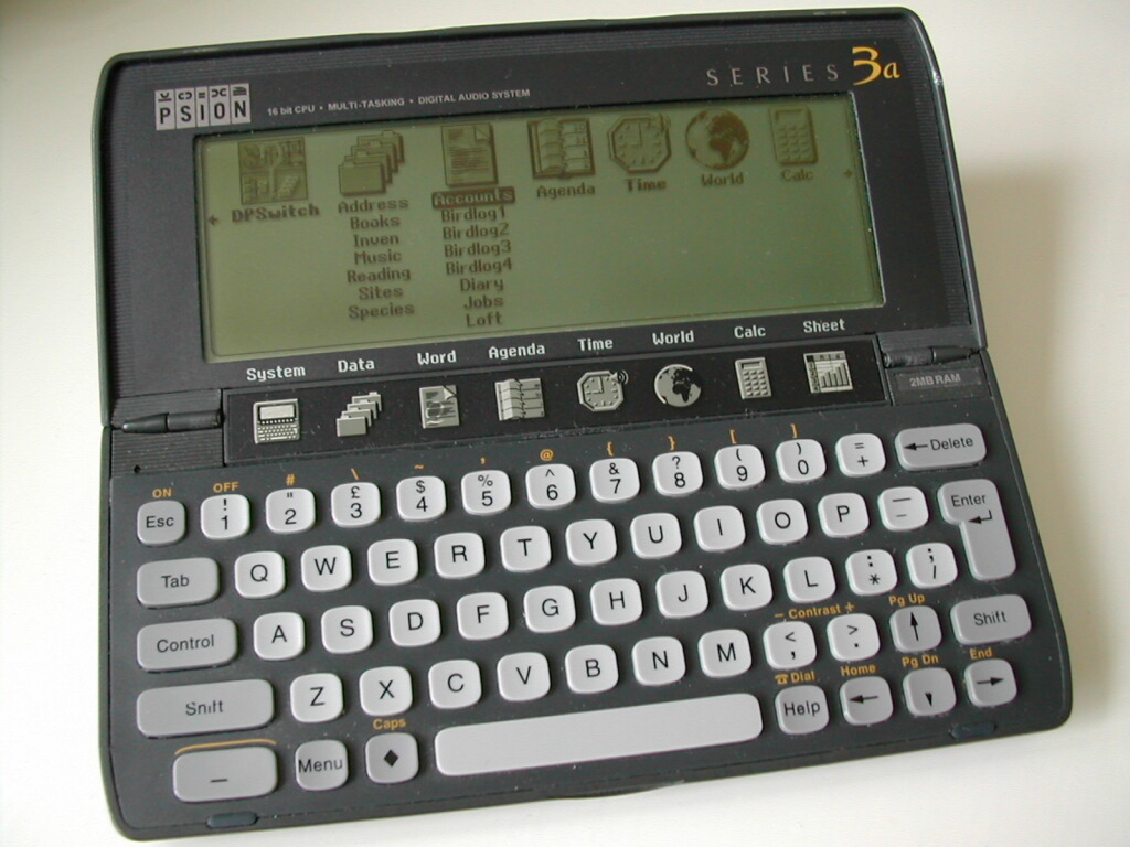Psion Series 3a pocket computer