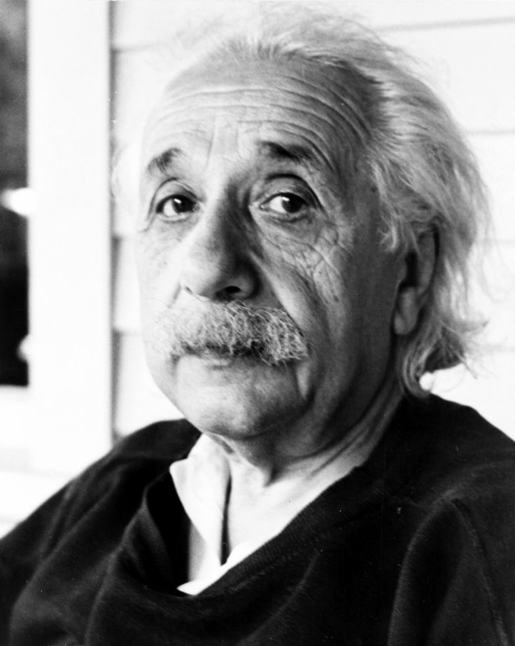 Albert Einstein is known for his mass–energy equivalence formula E = mc2, dubbed