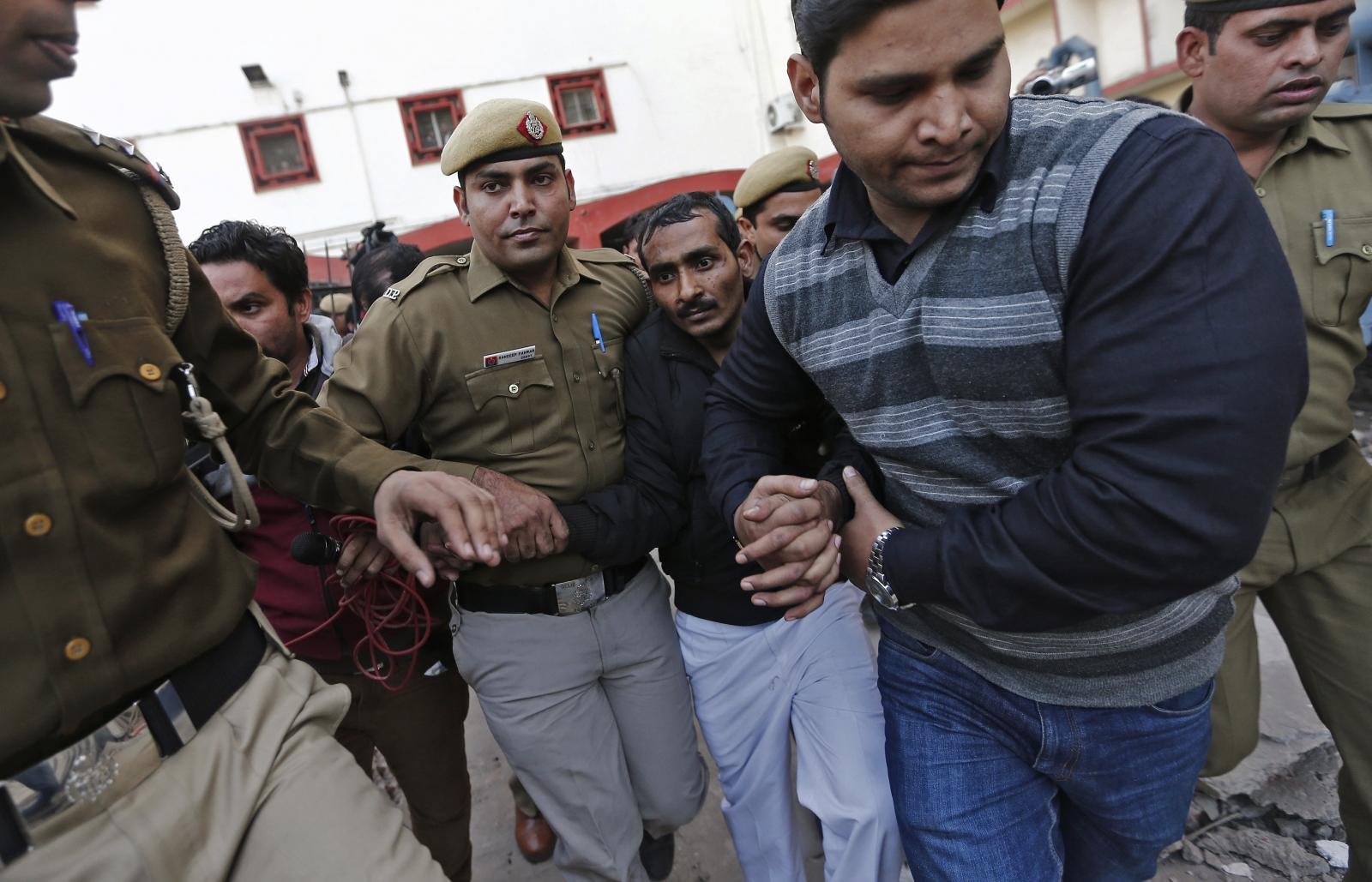 Uber taxi rape in New Delhi, India