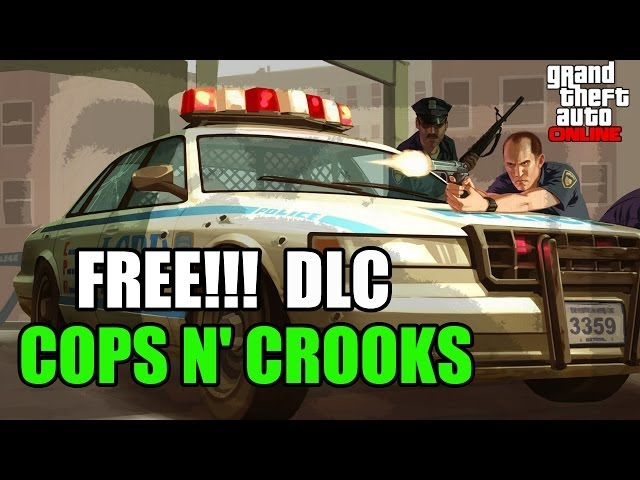 GTA 5 Online Heist DLC: Cops n Crooks RP bonuses and Holiday DLC info leaked
