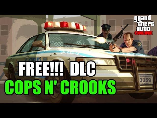 GTA 5 Online Heist DLC: Cops n Crooks RP bonuses and Holiday DLC info leaked