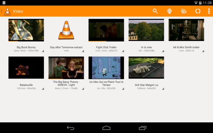 New version of VLC Player for Android available for download