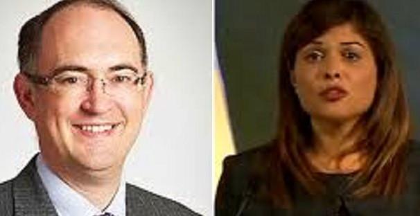 Ukip general secretary Roger Bird (left) denies harassment claims by Natasha Bolter