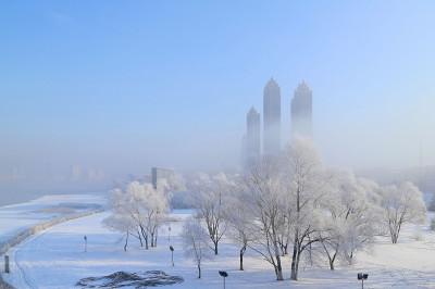 snow china