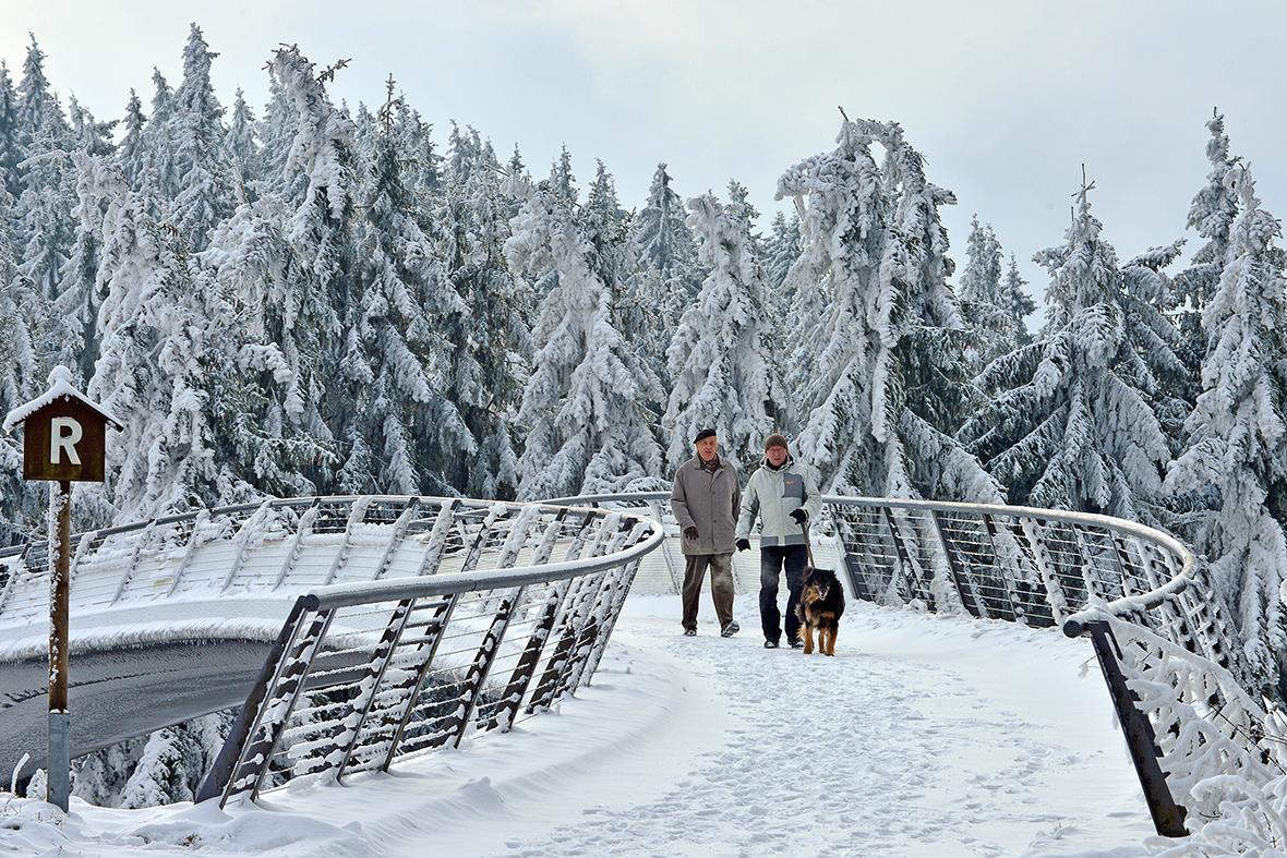 snow germany