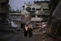 Gaza Ruins War crimes israel