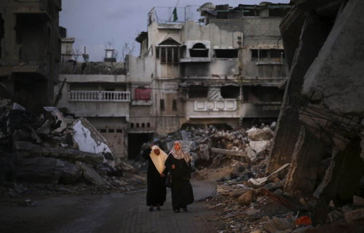 Gaza Ruins War crimes israel