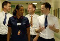 Jeremy Hunt and George Osborne