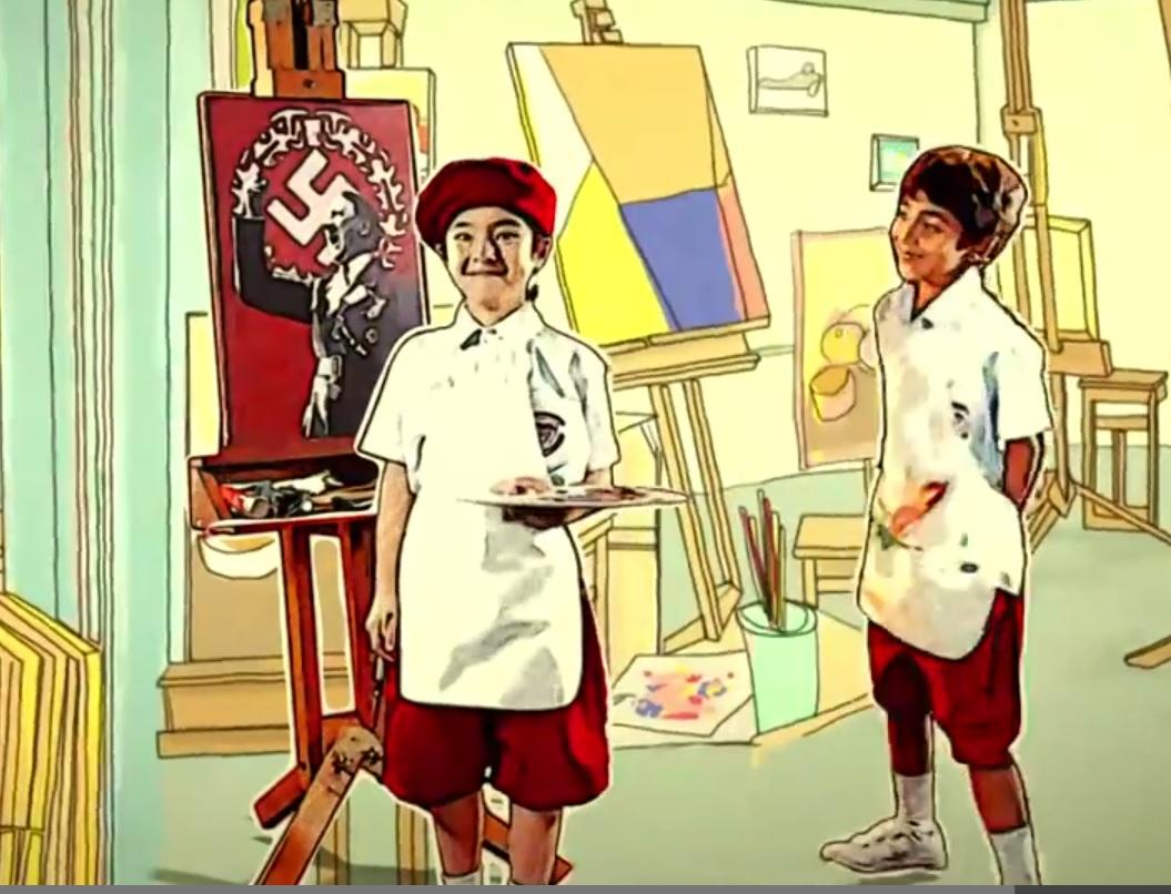 Thai schoolboy reveals image of Hitler