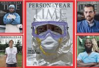 Time magazine annoints medics fighting ebola as \'person of the year\'