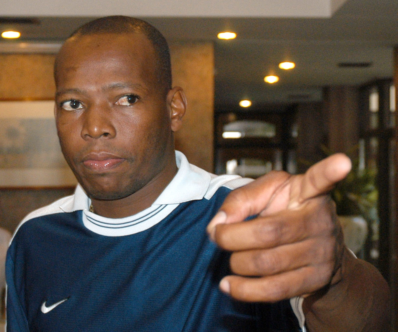 Faustino Asprilla had to flee Tulua after armed gang broke in to his home