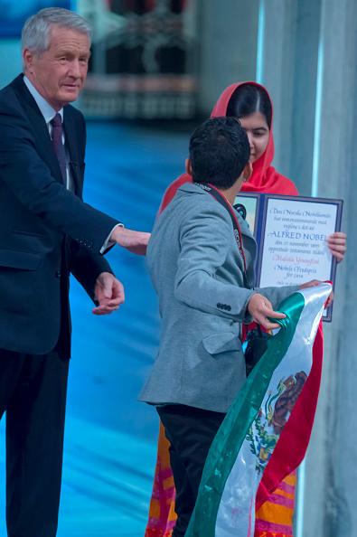 Malala Yousafzai Nobel Peace Prize ceremony