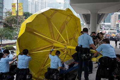 hong kong umbrella