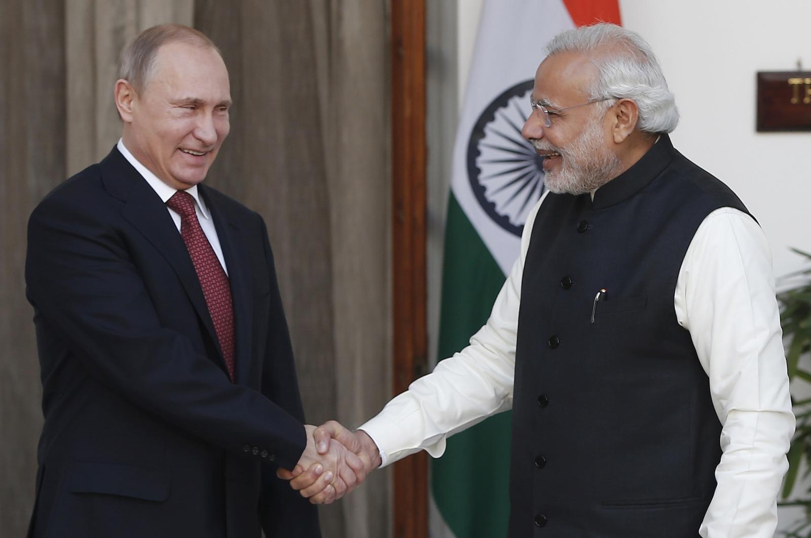 Vladimir Putin Narendra Modi