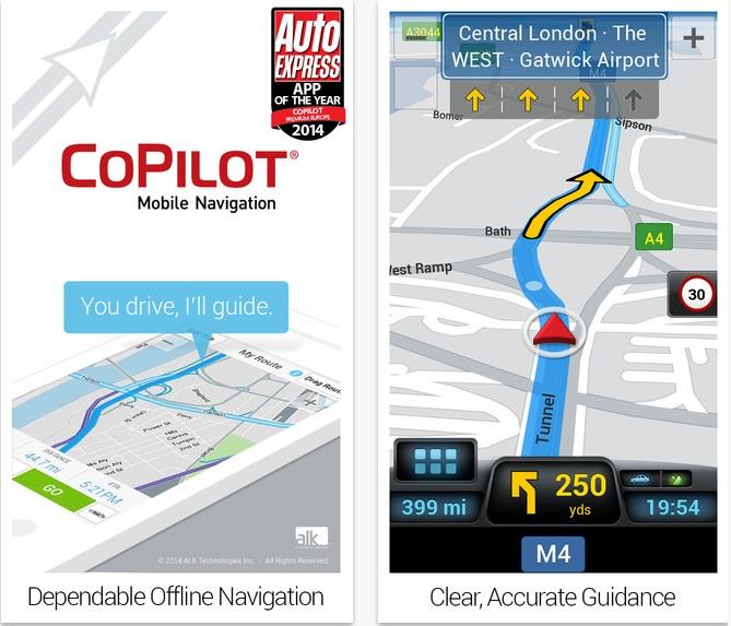 CoPilot Premium app