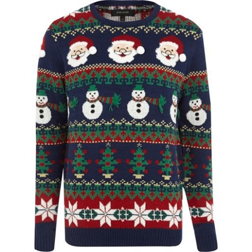 Christmas jumper river island