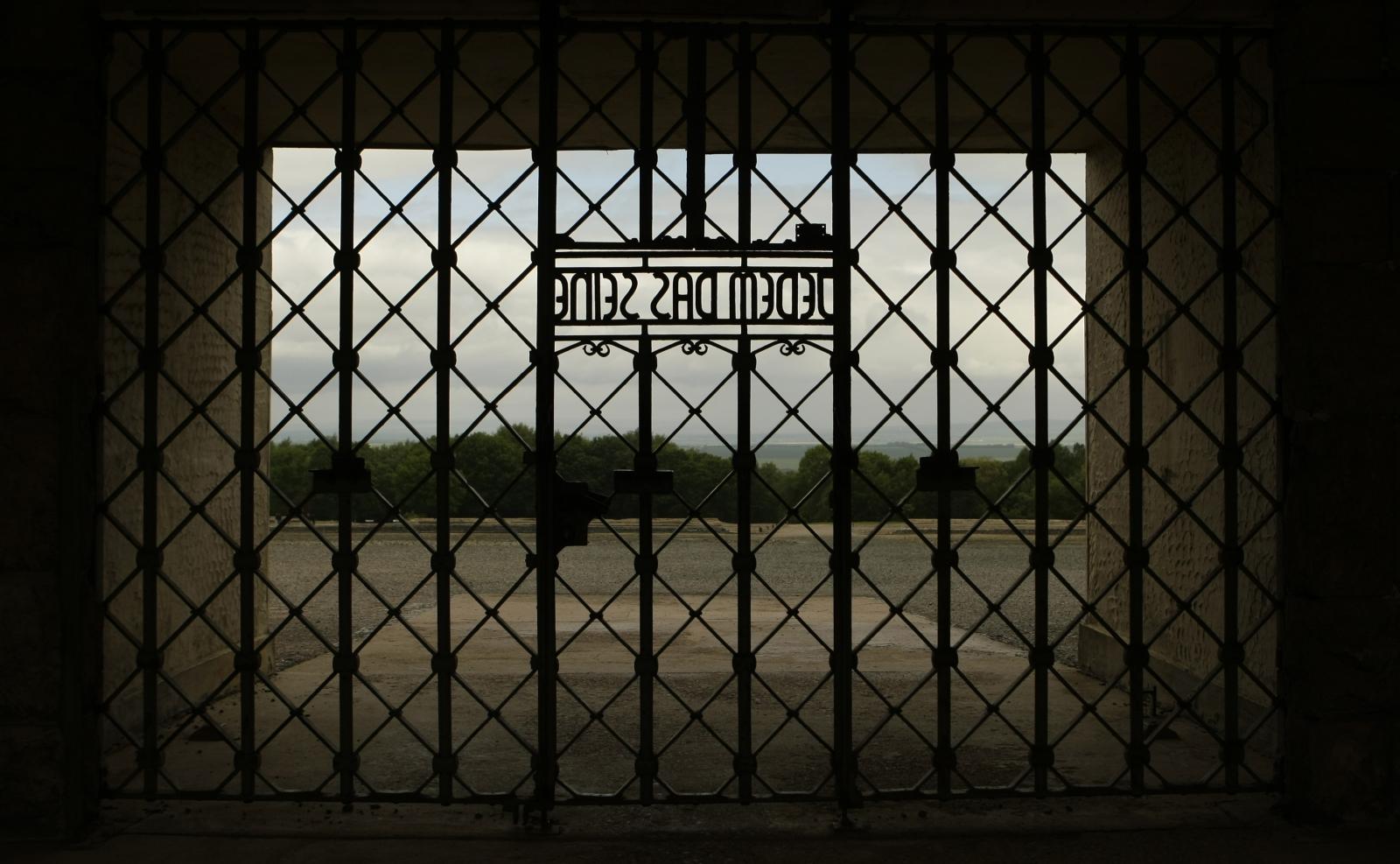 Germany Nazi Concentration Camp Vandalised in Bulldozer Attack Langenstein-Zwieberge Buchenwald