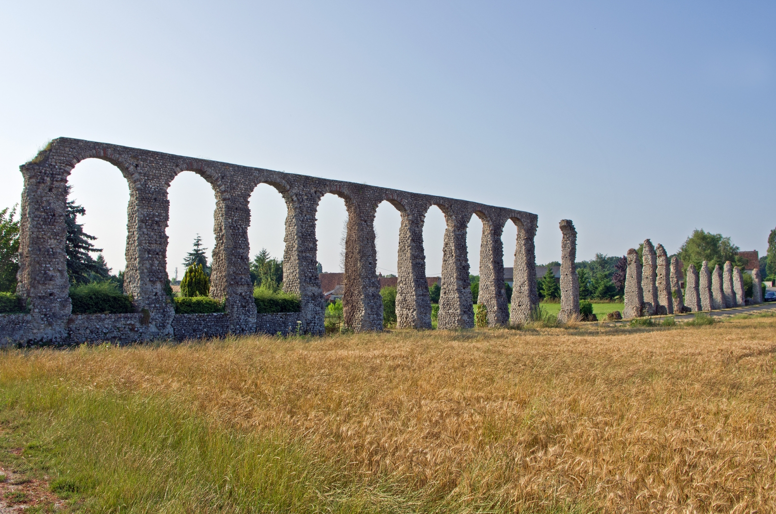 While the Romans' agricultural and water irrigation practices worked well, they might have been a factor in the Empire's downfall