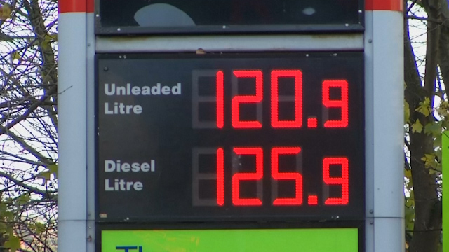 Crude oil prices not yet reflected at pumps