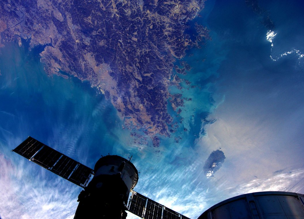 Earth photographed from the International Space Station