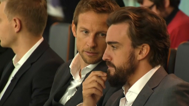 Fernando Alonso and Jenson Button to race for McLaren-Honda in 2015