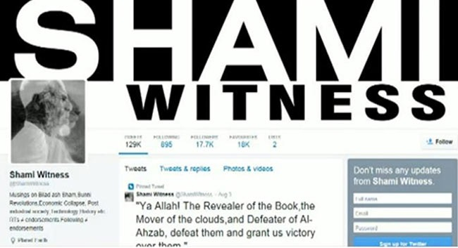 Isis twitter Shami Witness