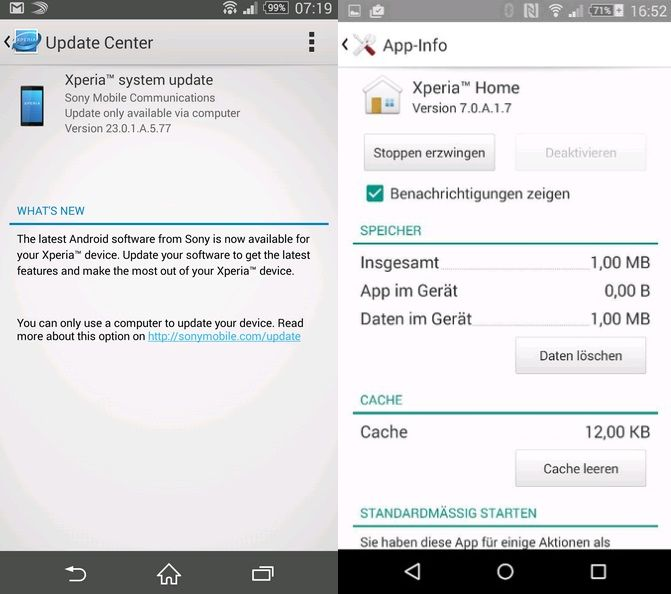 Xperia Z3 and Z3 Compact get new Android 4 4 4 stock