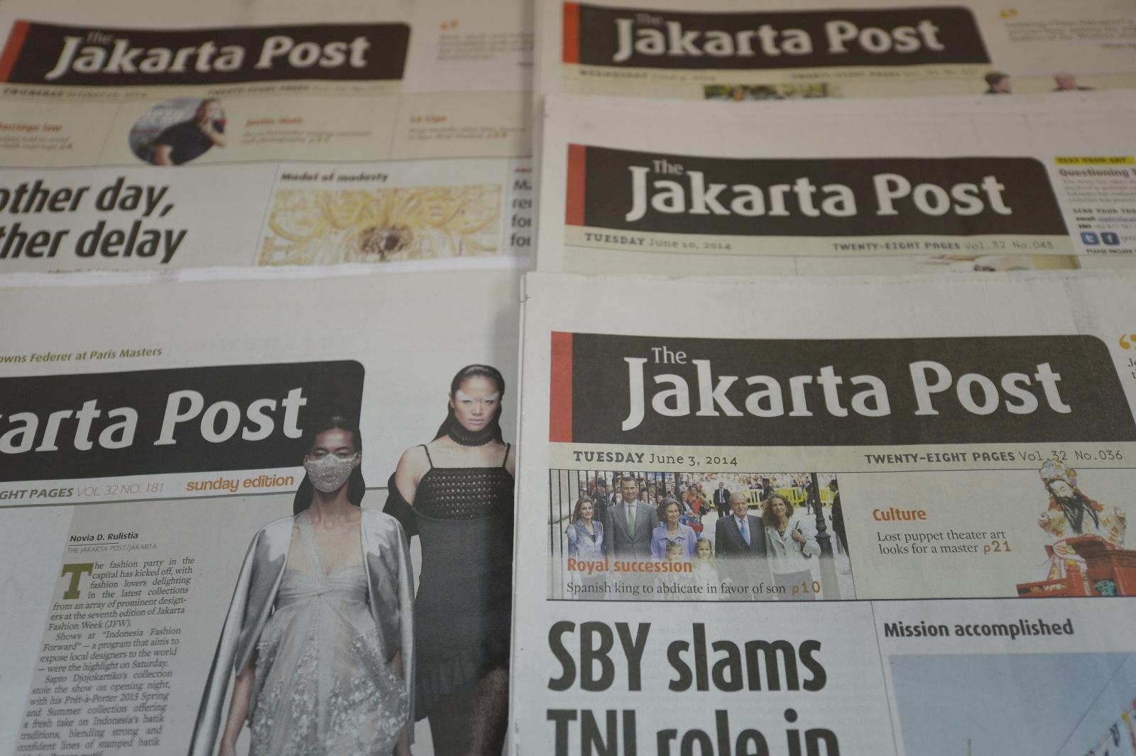 The Jakarta Post ISIS Cartoon Blasphemy