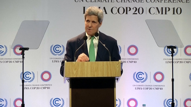 US's Kerry tells all nations to work on climate