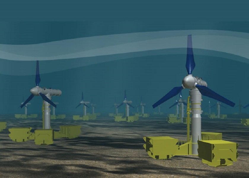 underwater wind farm
