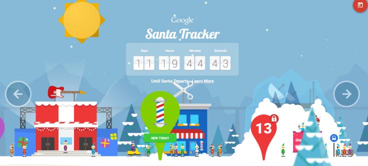 Google's Santa Tracker