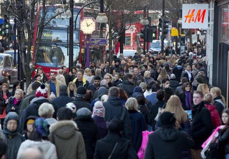 People in Oxford Street