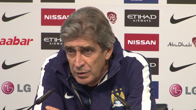 Manuel Pellegrini on Man City without Aguero