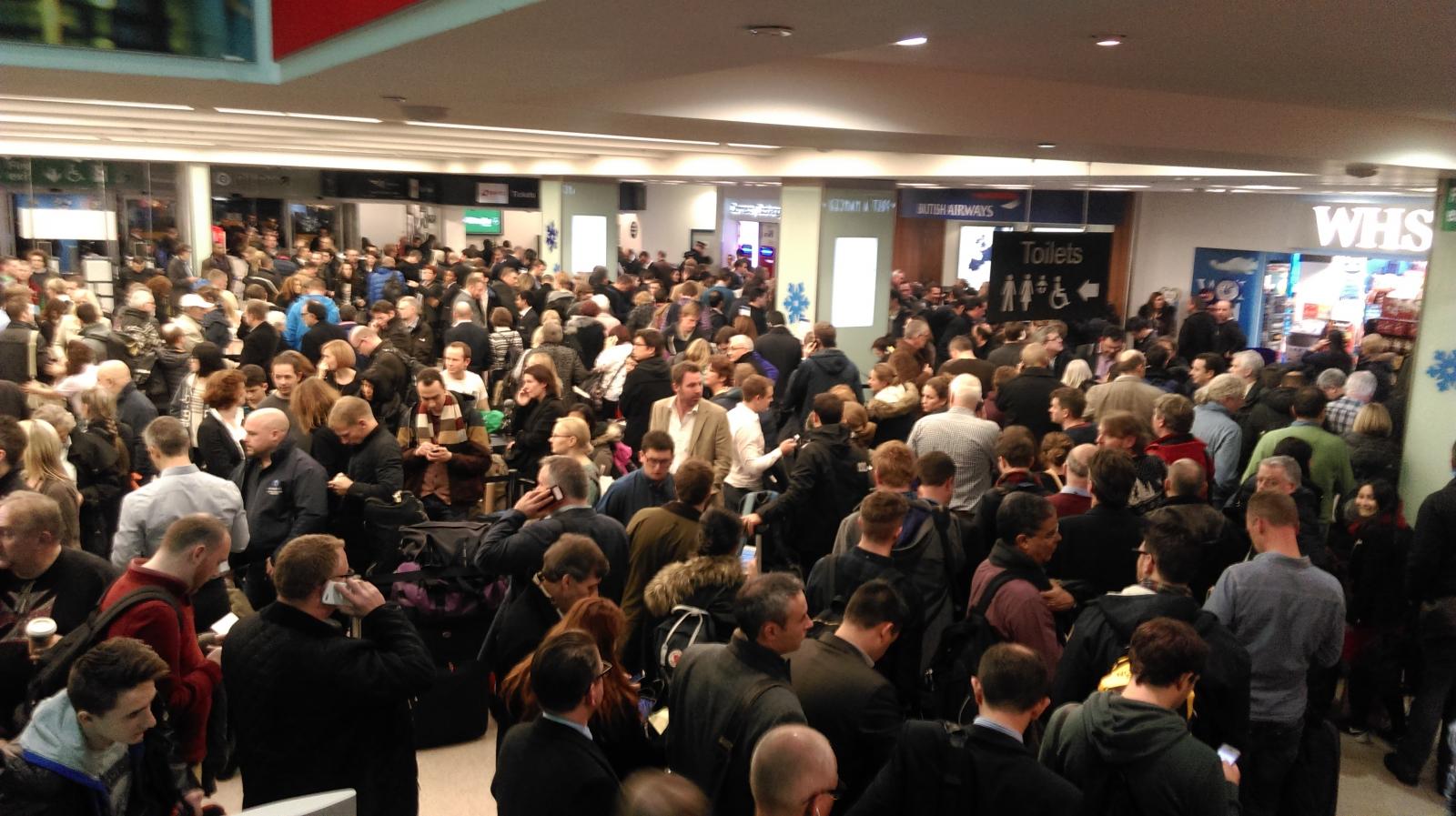 City Airport disruption